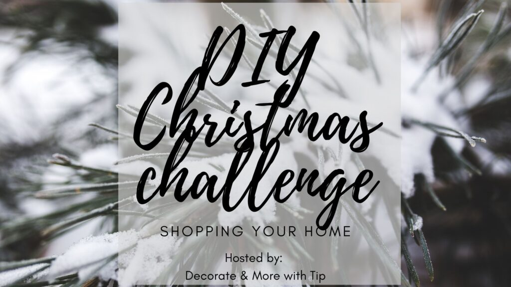 shop your home Christmas challenge