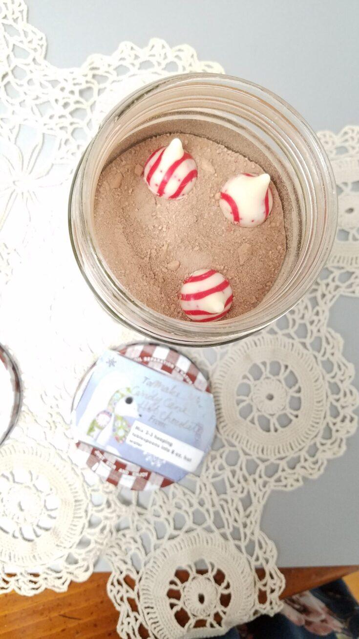 candy cane chocolate powdered coffee creamer
