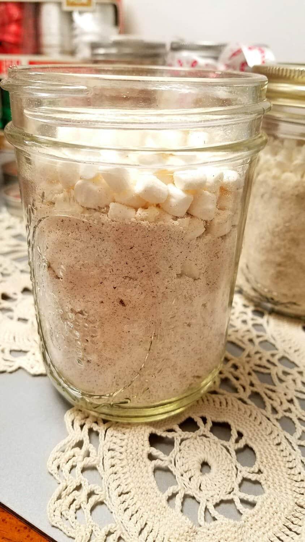 eggnog/ nutmeg mix