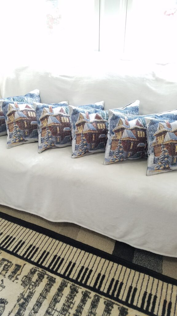 placemat pillows ready for gifts