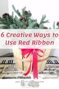 6 ways to use red ribbon