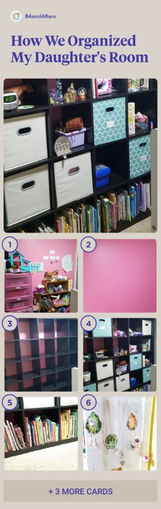 organizing a bedroom step by step
