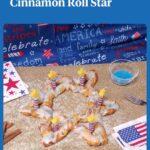 6 pointed star cinnamon roll star