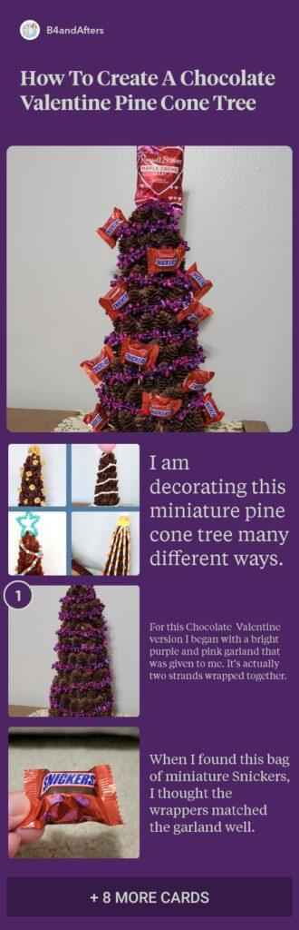 chocolate tree step by step