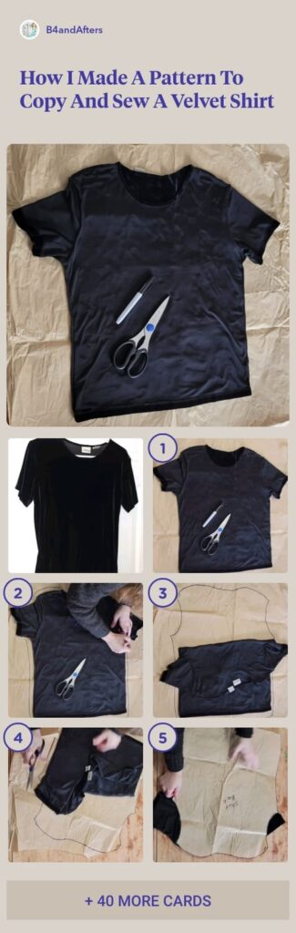 sew a shirt step by step in pictures