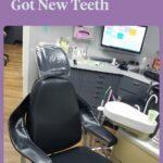 a dentist's chair