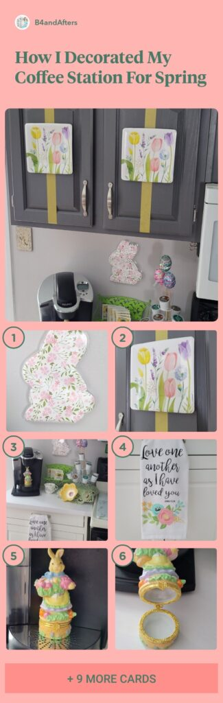 decorating for spring picture collage