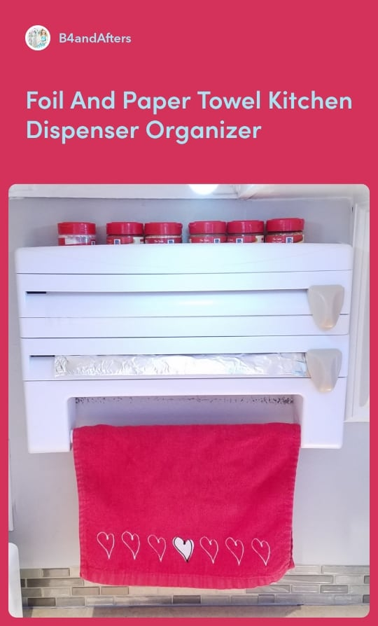 wall kitchen organizer