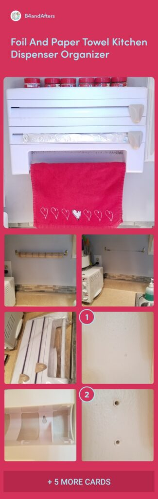 kitchen organizer for the wall step by step pictures