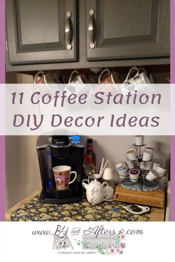 11 DIY Coffee Station decor ideas