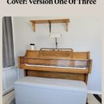 smooth piano bench cover