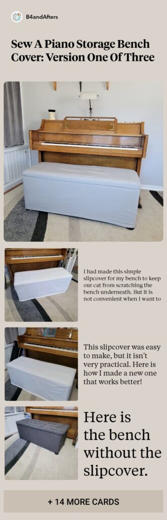 storage bench cover