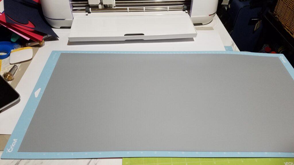 gray iron on cricut vinyl
