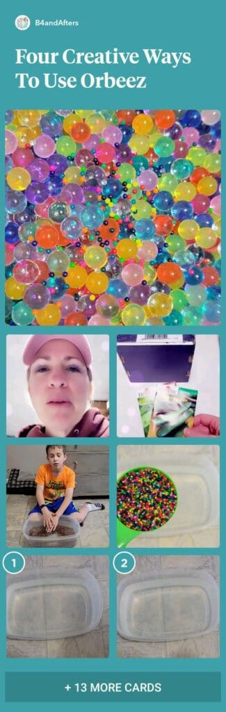4 creative ways to use orbeez collage