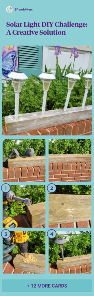 step by step solar light solution