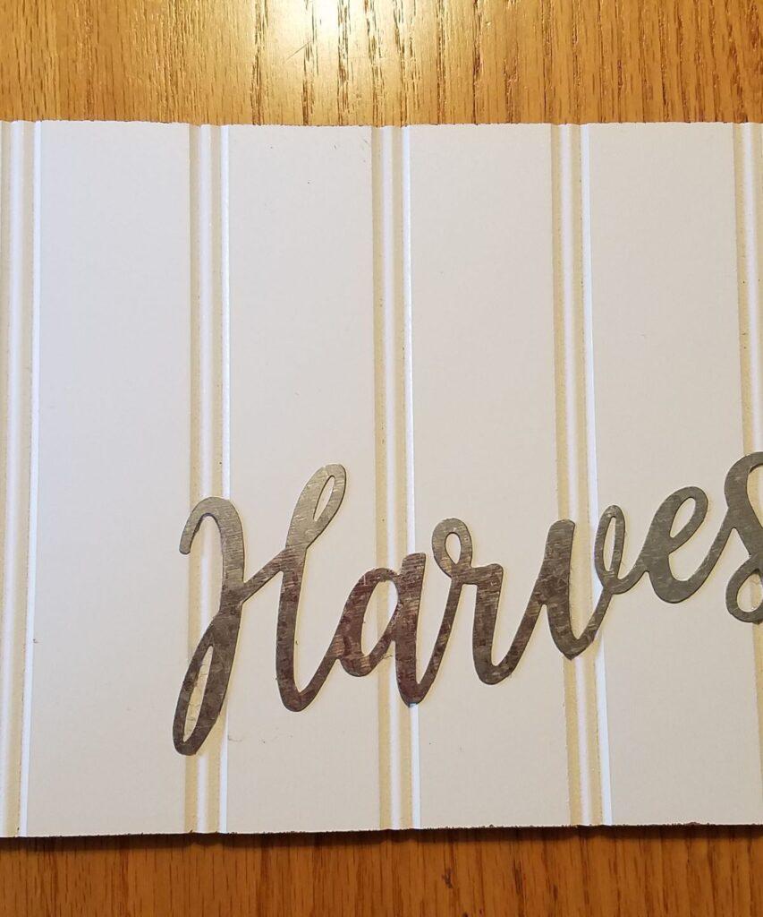 harvest metal word