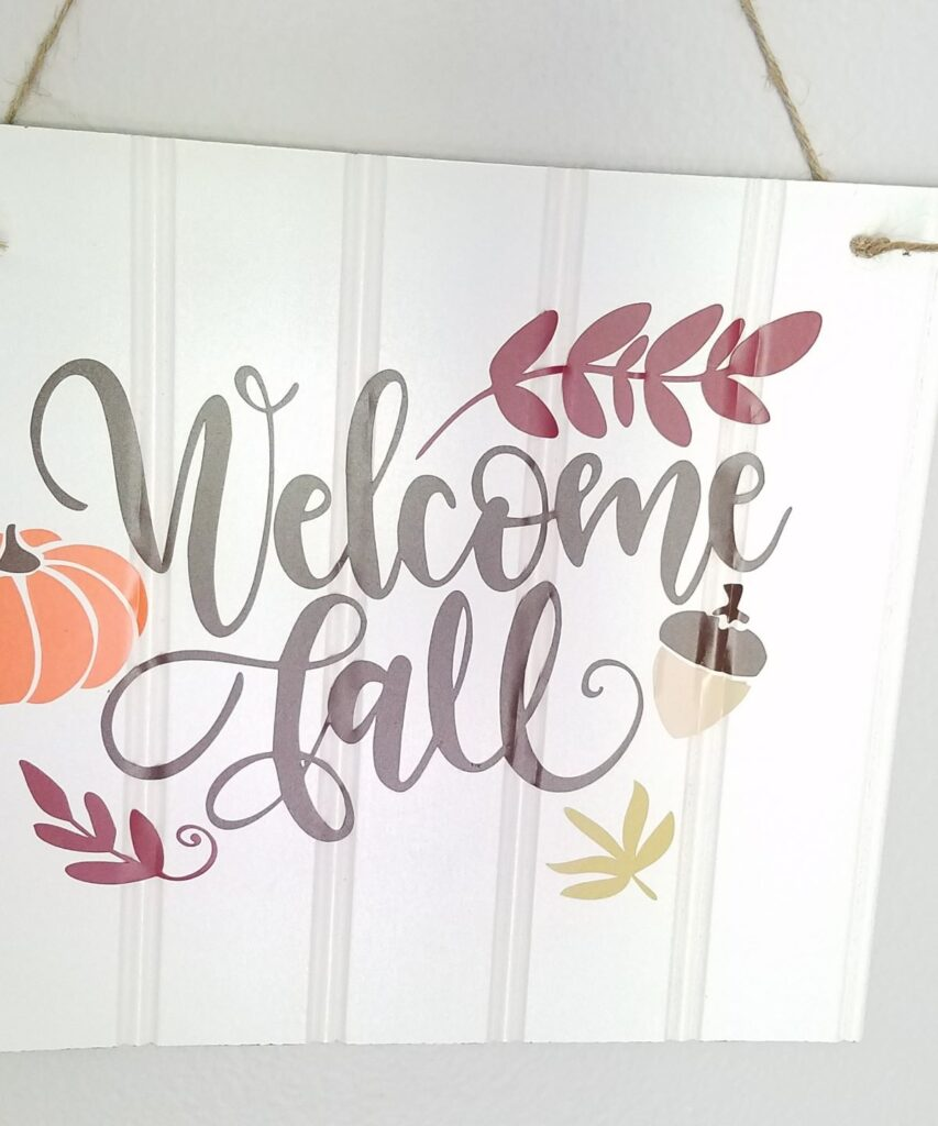 Welcome Fall design