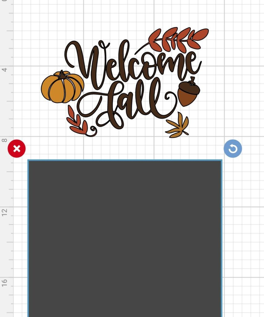 Cricut Design Spice Welcome Fall