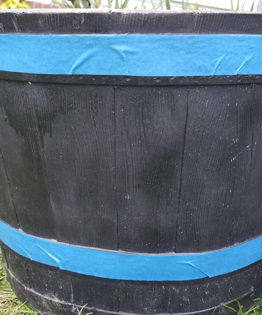 blue painters tape