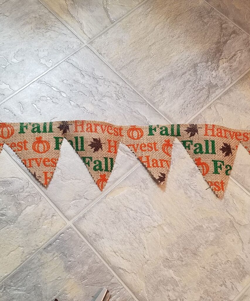 triangle banner