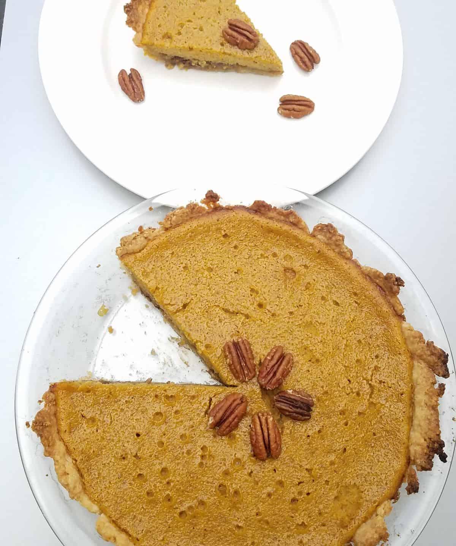 pie with slice