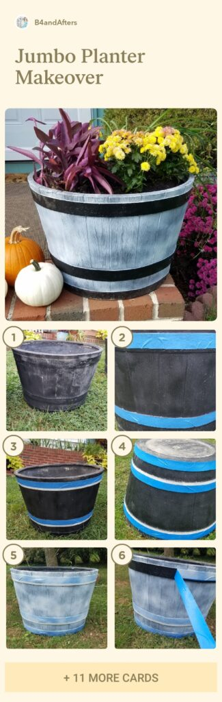 how to fill a jumbo planter